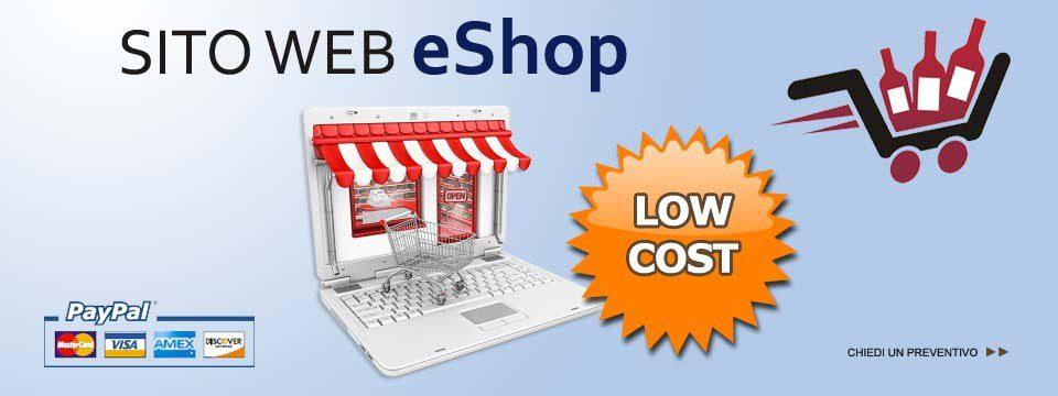 "Sito web ""eShop"""