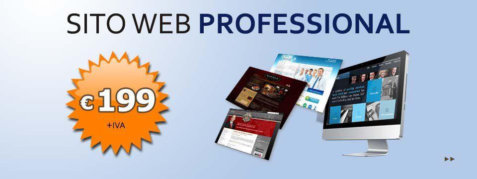"""Sito web """"Professional"""""""
