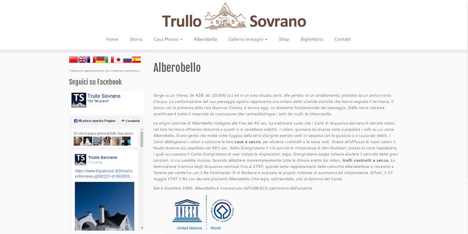 Trullo Sovrano<br>Alberobello (BA)