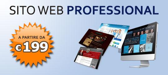 Sito-web Professional a basso costo