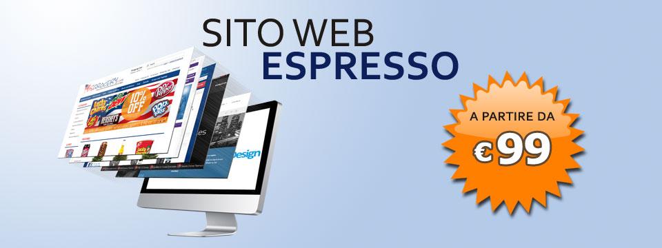 """Sito Web """"Espresso"""""""
