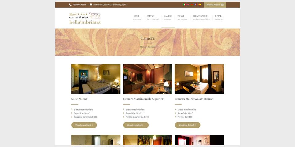 Hotel Bella'mbriana<br>hotelfollonica.it